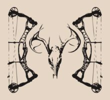DeerSkull & Compound Bow by GrumpyDog