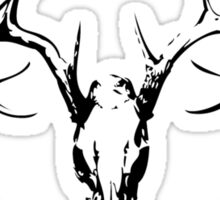 DeerSkull & Compound Bow Sticker