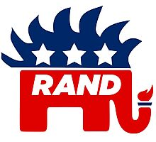 Rand Paul Libertarian Republican 2016 Photographic Print