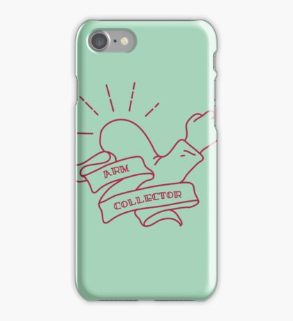 Arm Collector iPhone Case/Skin