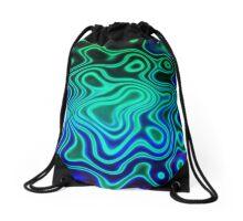 enchanted glow Drawstring Bag