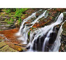 Ithaca's Buttermilk falls VII  Photographic Print