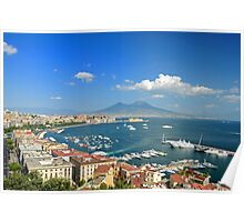 Naples... The Beautiful City Poster