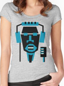 singer face  Women's Fitted Scoop T-Shirt