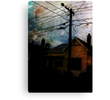 Home Invasion Canvas Print