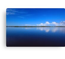 calmness over Chokoloskee Bay Canvas Print
