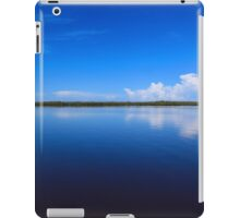calmness over Chokoloskee Bay iPad Case/Skin