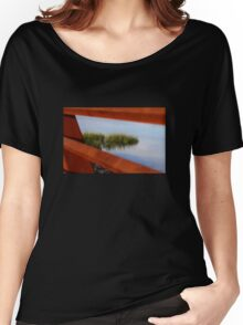 Through the Railing Women's Relaxed Fit T-Shirt