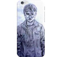 Pencil Drawing of Harry Potter iPhone Case/Skin