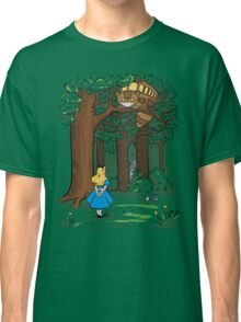 My Neighbor in Wonderland (Kelly Green) Classic T-Shirt