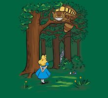 My Neighbor in Wonderland (Kelly Green) Unisex T-Shirt