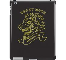 Beast Mode - Always On iPad Case/Skin