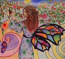 Fruit Picking Fairy by Sarah-Cherrie