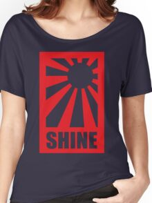 sun shine - red version Women's Relaxed Fit T-Shirt