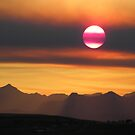Smokey Summer Sunset  by Judy Grant