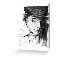 Gerard Way as A Clockwork Orange, pencil Greeting Card