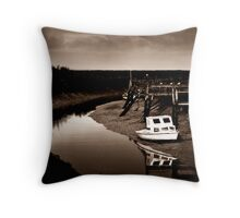 Up the Creek VII Throw Pillow