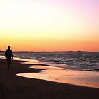 SUNSET WALK by MrSnapHappy