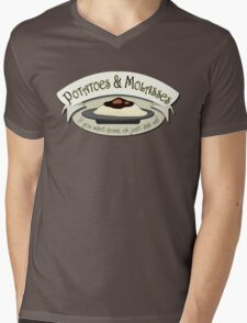 Potatoes and Molasses Mens V-Neck T-Shirt