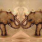 Elephant Love by © Cassidy (Karin) Taylor