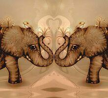 Elephant Love by © Cassidy (Karin) Taylor