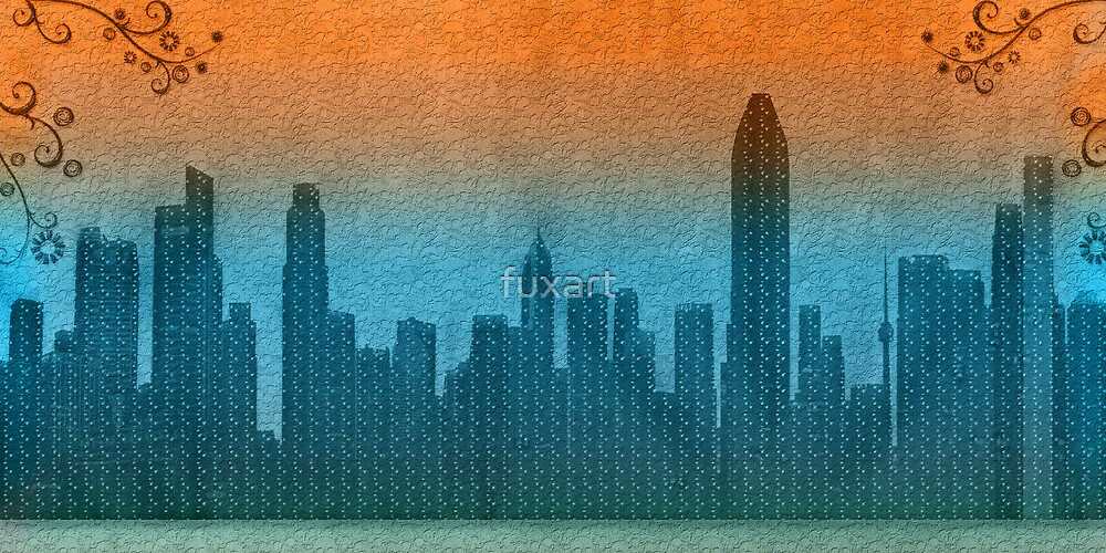 funky town by fuxart