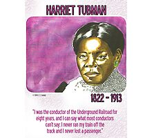 Harriet Tubman Photographic Print