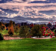 the valley in  fall by Jeannie Peters