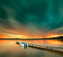 Warners Bay Sunset by Andy Gock