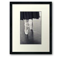 ~ en pointe ~ Framed Print