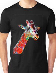 Head of a Giraffe Unisex T-Shirt