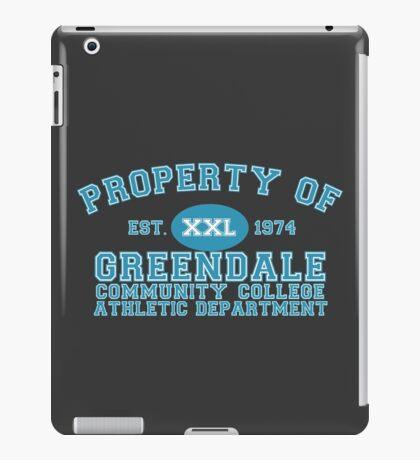 Greendale Community College Athletic Department iPad Case/Skin