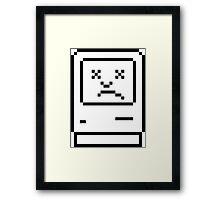 Sad Mac :( Framed Print