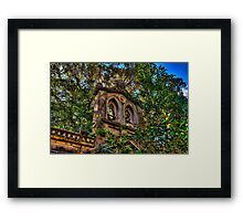 The Ruins - The HDR Experience Framed Print
