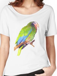 The Green Parrot Tee Women's Relaxed Fit T-Shirt