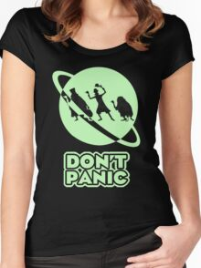 Hitchhiker's Guide to the Haunted Mansion Women's Fitted Scoop T-Shirt