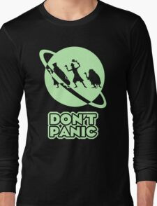 Hitchhiker's Guide to the Haunted Mansion Long Sleeve T-Shirt