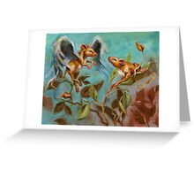 In the Beginning - Introductions Greeting Card