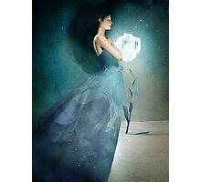 Ice Princess Photographic Print