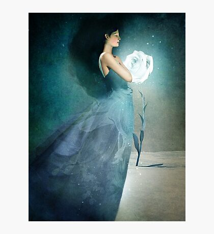Ice Princess Photographic Print