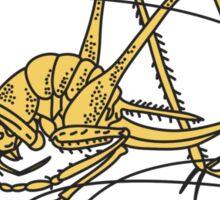 long horned grasshopper Sticker