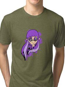 Purple Inkling Girl Tri-blend T-Shirt