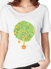 Pear Tree Women's Relaxed Fit T-Shirt