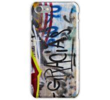 Abstract Graffiti Wall Art Photography - Gracias iPhone Case/Skin