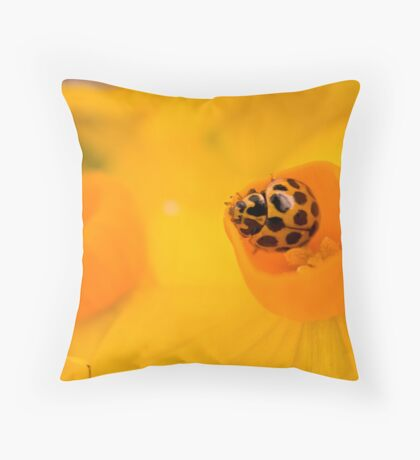 Cupped! Throw Pillow