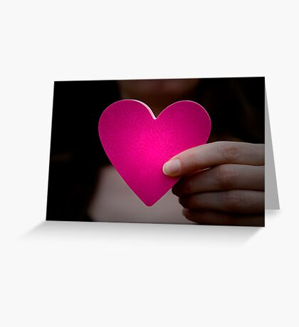 Paper Heart Greeting Card