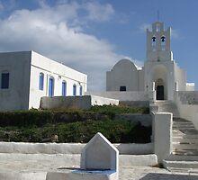 Agios Chrisopigi, Sifnos, Greece by Bowen Bowie-Woodham