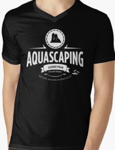 Aquascaping - Journeyman Mens V-Neck T-Shirt