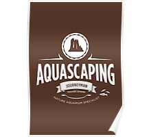 Aquascaping - Journeyman Poster