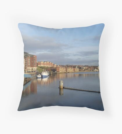 Newcastle-upon-Tyne Throw Pillow